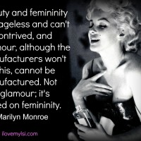 Beauty, glamour, femininity.