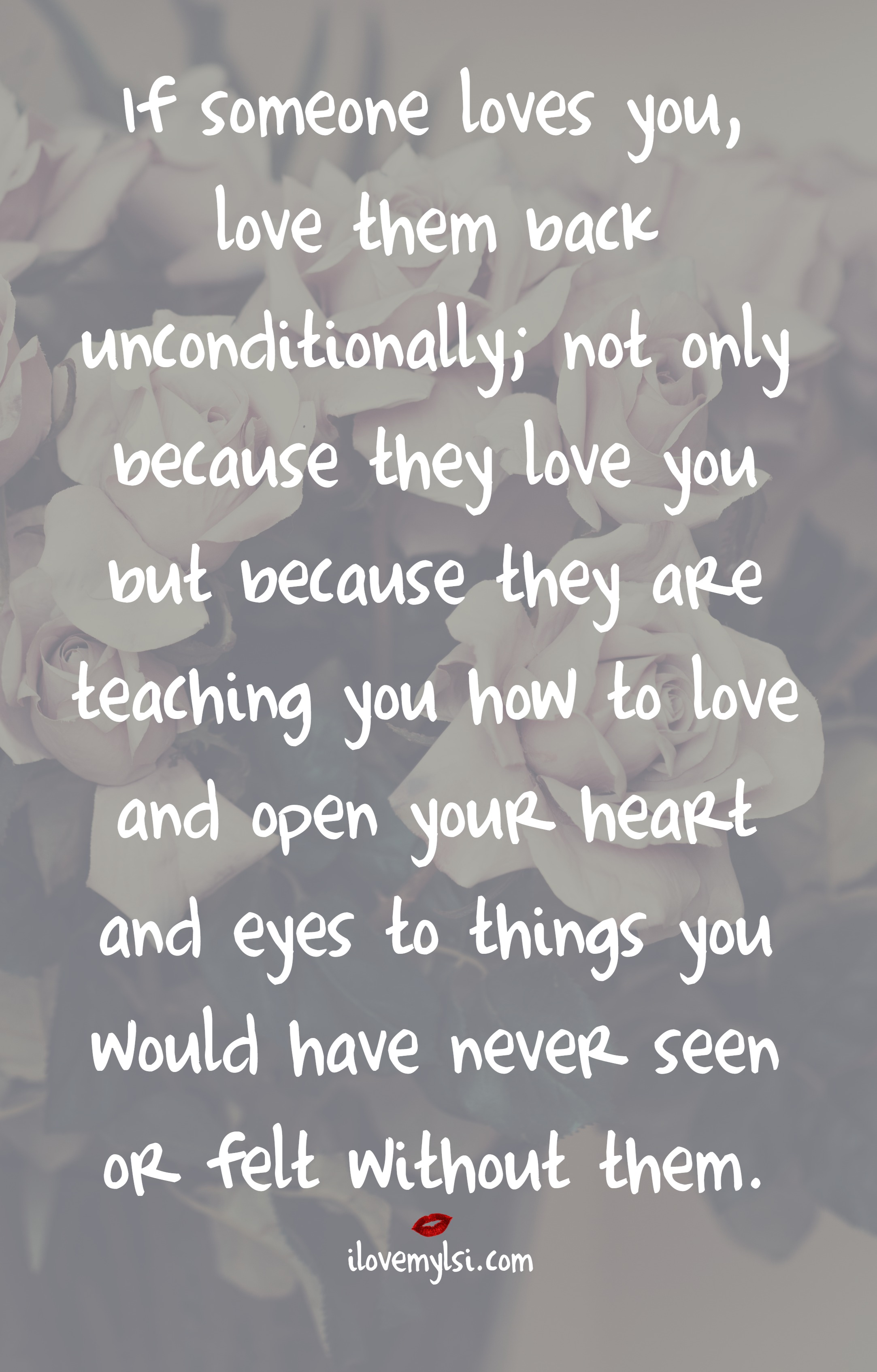 If Someone Loves You - I Love My LSI